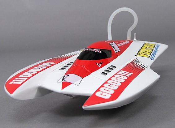 渦ハイドロレーシングボート(475ミリメートル)プラグ・アンド・ドライブ - レッド