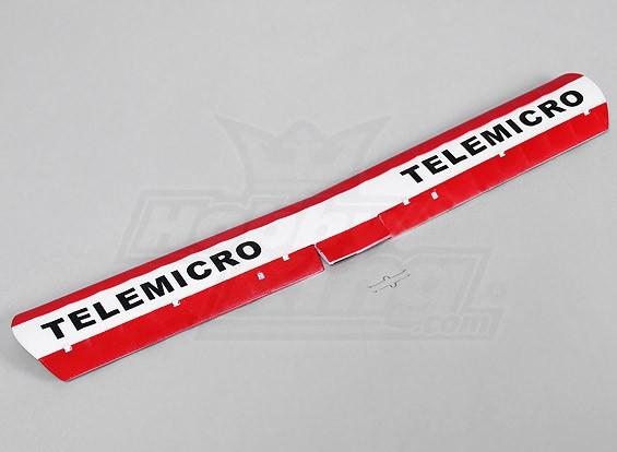 Telemicro 520ミリメートル - 交換メインウィング
