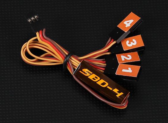 SBD4 4チャンネルS.BUSデコーダ