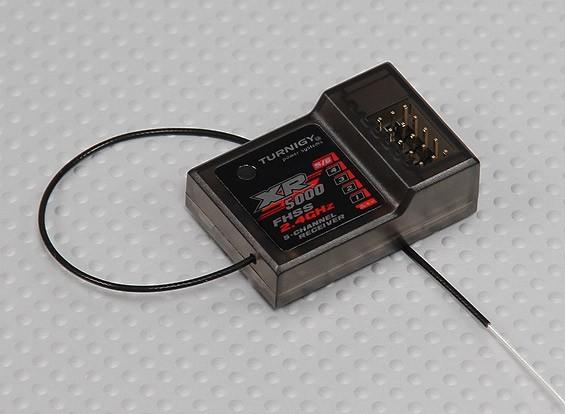 Turnigy 4X TX用Turnigy XR5000レシーバー