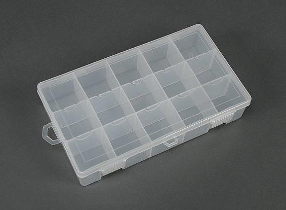 プラスチック製の多目的オーガナイザー - 大15コンパートメント