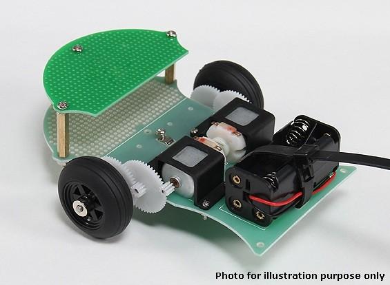 シンプルな拡張可能なロボットシャーシ(KIT)