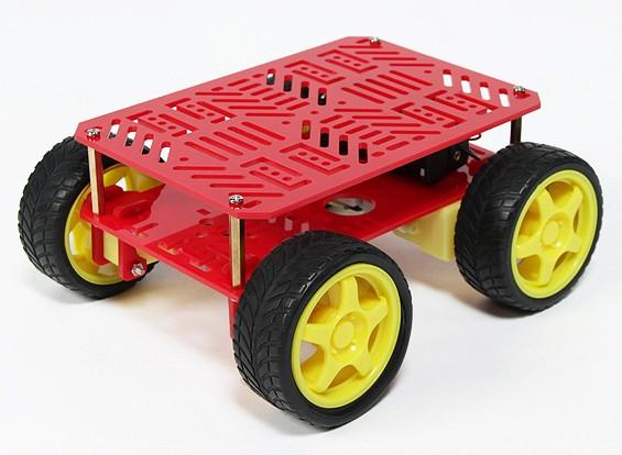 4WDロボットシャーシ(KIT)