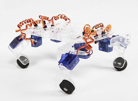 QuadBot 4脚ロボットシャーシ(キット)