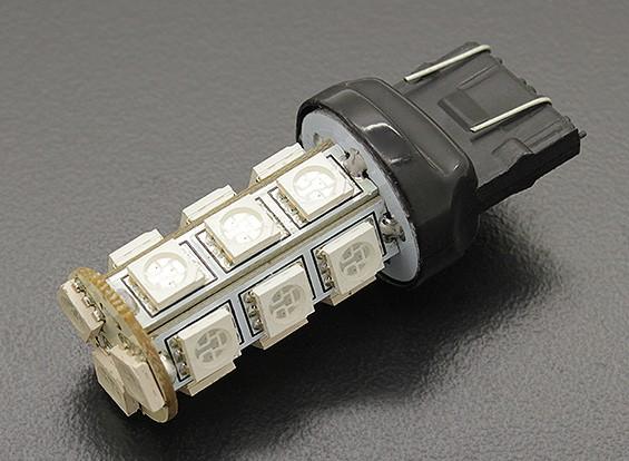 LEDコーンライト12V 3.6W(18 LED) - イエロー