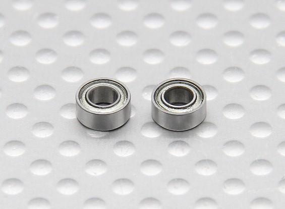 Turnigy FBL100ボールベアリング6x3x2.5mm(2個/袋)