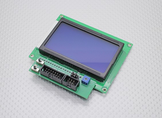 Kingduino用LCD 12864モジュールV2.0
