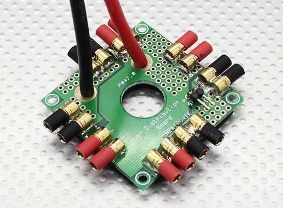 ホビーキングOctocopter配電基板