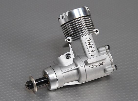 マフラーとINC 0.40グローエンジン(ABCピストン/スリーブアセンブリ)