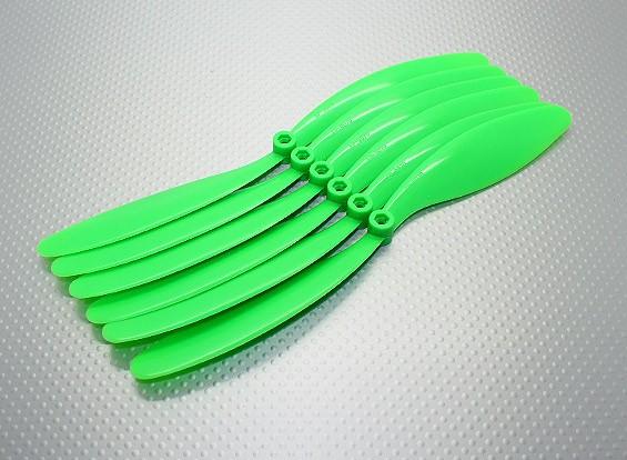 GWS EPプロペラ(RD-9070の228x178mm)、緑(6PCS /セット)