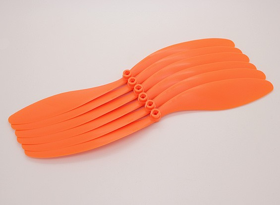 GWS EPプロペラ(RD-1260の305x152mm)オレンジ(6PCS /セット)
