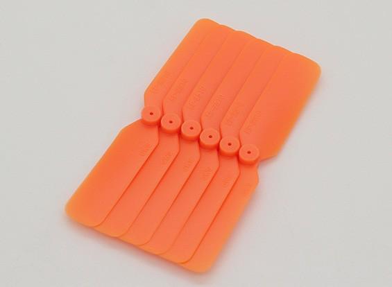 GWS EPプロペラ(DD-2510 65x25mm)オレンジ(6PCS /セット)
