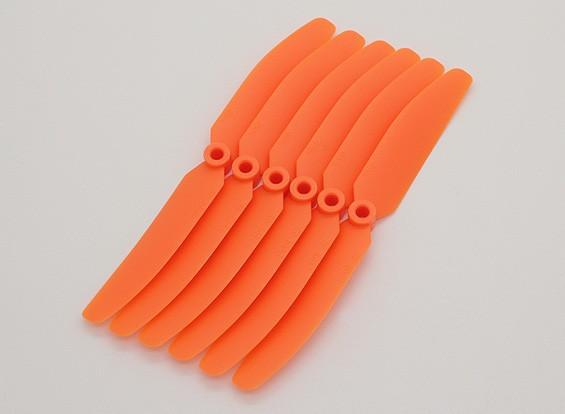 GWS EPプロペラ(DD-5043の125x110mm)オレンジ(6PCS /セット)