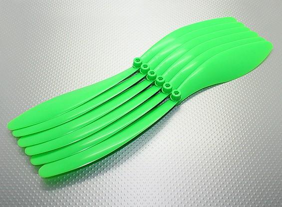 GWS EPプロペラ(RD-1390 330x228mm)、緑(6PCS /袋)