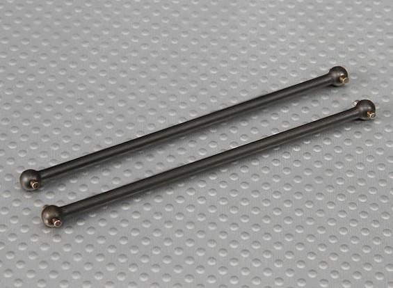リアドライブシャフト1/10 Turnigyスタジアムキング2WDトラギー(2個/袋)