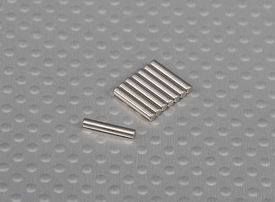 ピン(10x2mm)1/10 Turnigyスタジアムキング2WDトラギー(8本/袋)