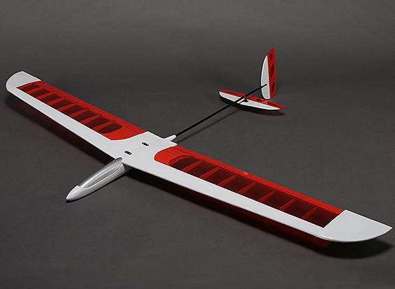 アポロ1550コンポジットDLGグライダー飛行機1550ミリメートル(ARF)