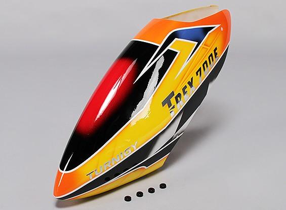 トレックス700E用Turnigyハイエンドグラスファイバーキャノピー