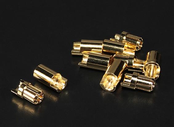 PolyMAXの6.5ミリメートルゴールドコネクタ5ペア(10PC)