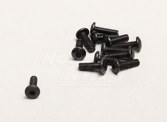 M3x10mm六角ネジ(個入り/袋) -  TurnigyトレイルブレイザーXBとXT 1/5