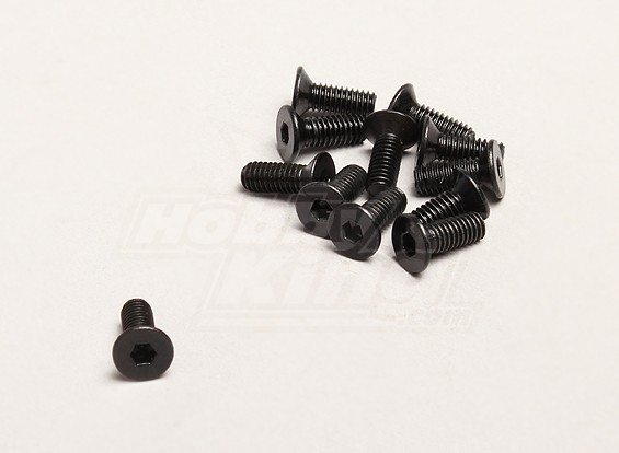M4x12mm六角ネジ(個入り/袋) -  TurnigyトレイルブレイザーXBとXT 1/5