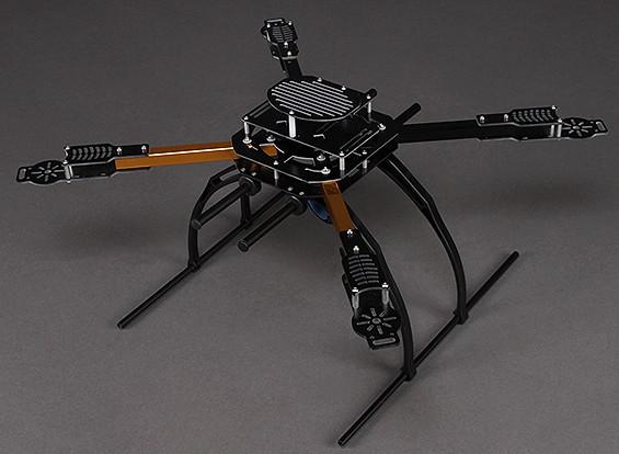 Hobbyking X650Fガラス繊維クワッドローターフレーム550ミリメートル