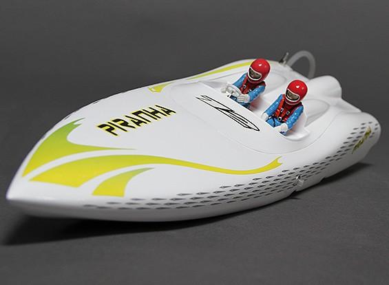 ピラニア400ブラシレスVハルR / Cボート(400ミリメートル)ワット/モーター