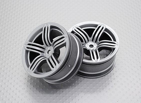 1:10スケール高品質ツーリング/ドリフトホイールRCカー12ミリメートル六角(2PC)CR-RS6S
