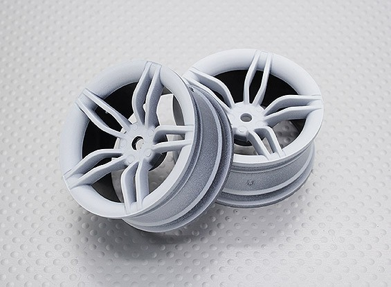 1:10スケール高品質ツーリング/ドリフトホイールRCカー12ミリメートル六角(2PC)CR-FFW