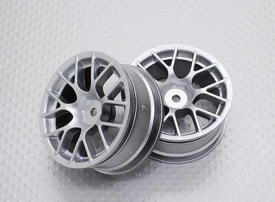 1:10スケール高品質ツーリング/ドリフトホイールRCカー12ミリメートル六角(2PC)CR-CHS