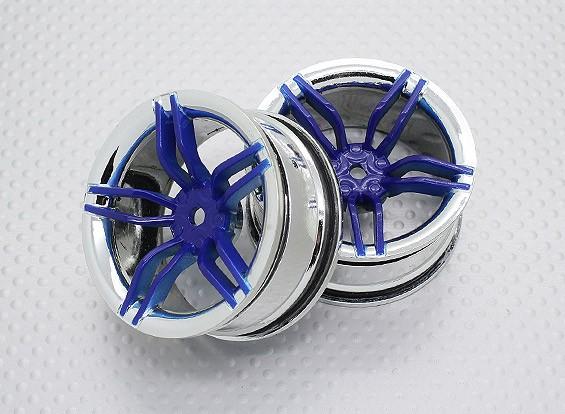 1:10スケール高品質ツーリング/ドリフトホイールRCカー12ミリメートル六角(2PC)CR-FFB
