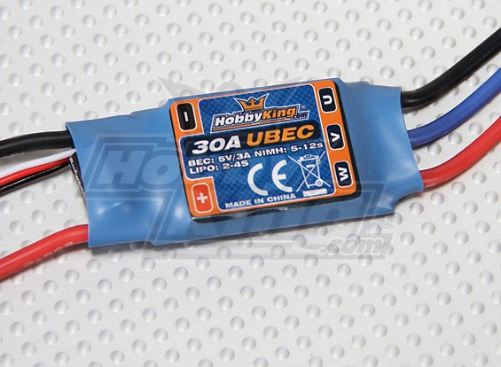 ホビーキング30A ESC 3A UBEC