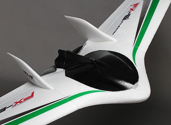 ファントムFPVフライングウィングEPO飛行機1550ミリメートル(PNF)V2