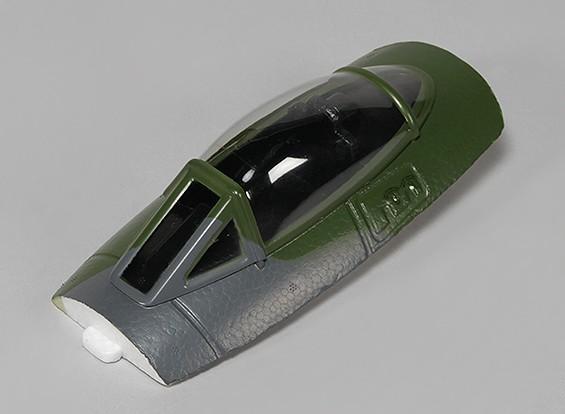 限定版Durafly®™DHヴァンパイア1100ミリメートル交換用キャノピー