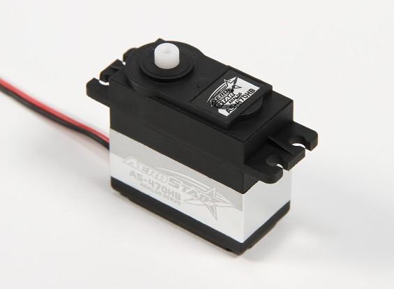 アエロスター™AS-470HB高トルク標準サーボ6.21キロ/ 0.12sec / 48.5グラム
