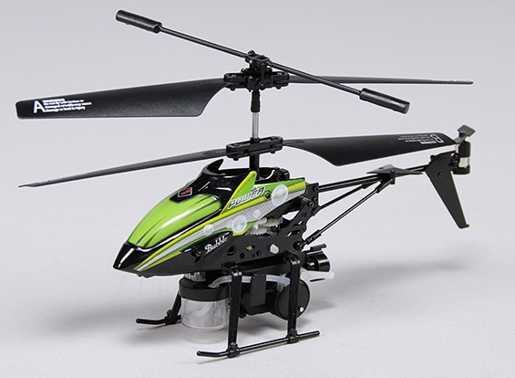 バブルヘリコプターリモートコントロールマイクロヘリコプター(モード1)(RTF)