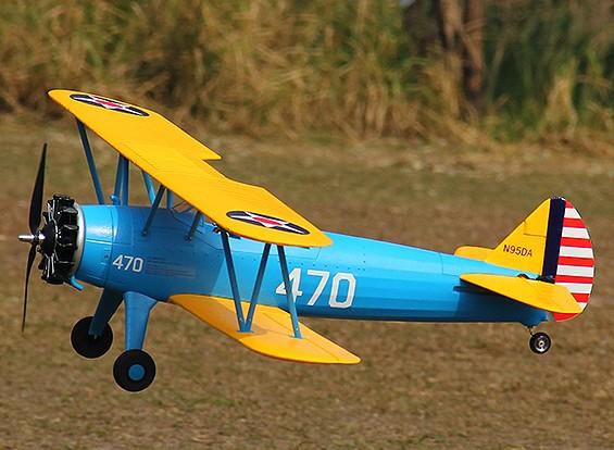 HobbyKing®™ステアマンPT-17複葉機EPO 1200ミリメートル(PNF)