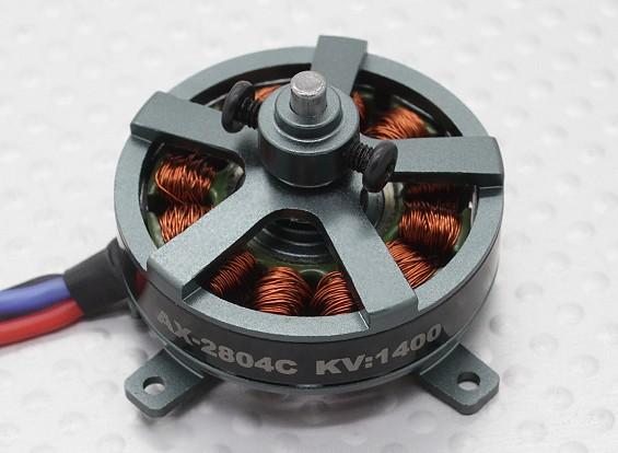 Turnigy AX-2804Cの1400KV / 80Wブラシレスアウトランナーモーター