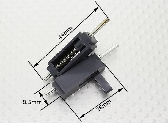 キャノピーロック -  26x8.5x8mm 2PCS
