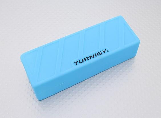 Turnigyソフトシリコンリポバッテリープロテクター(1600-220mAh 3S-4Sブルー)110x35x25mm