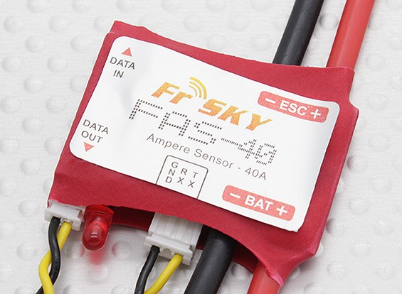 FrSky FAS-40アンペアテレメトリーセンサー(最大40A)