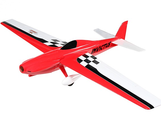 HobbyKing®インヴィクタスEF-1パイロンレーサーバルサの1288ミリメートル - レッド(ARF)