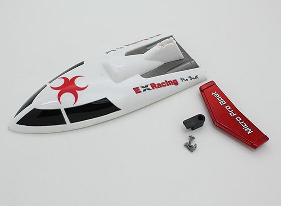 蛇2ミニVハルレーシングボート360ミリメートル(トップカバーセット)