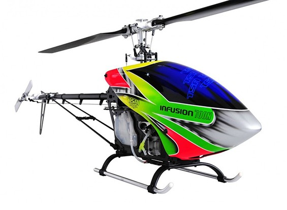TSA輸液700NのPROフライバーレスニトロヘリコプターキット