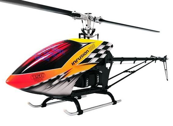 TSA輸液700E PROのフライバーレス電動ヘリコプターキット