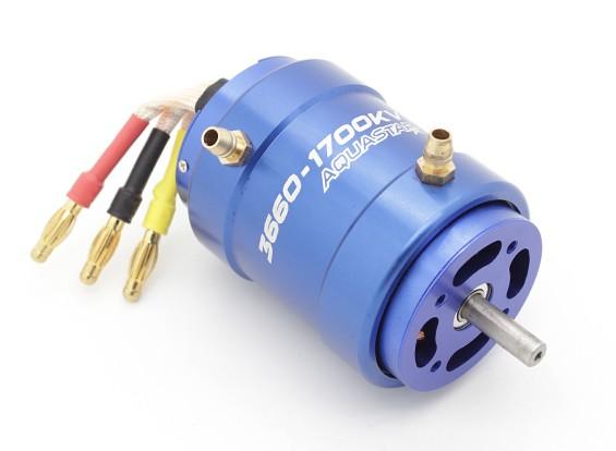 Turnigy AquaStar 3660-1700KV水はブラシレスモーターを冷却しました