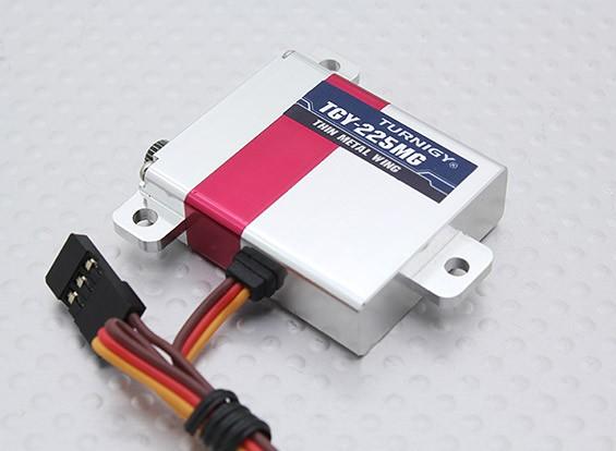 /アルミケース6.5キロ/ 0.08sec / 28グラムワットTurnigy™TGY-225MGスリムウィングHV / DS / MGサーボ