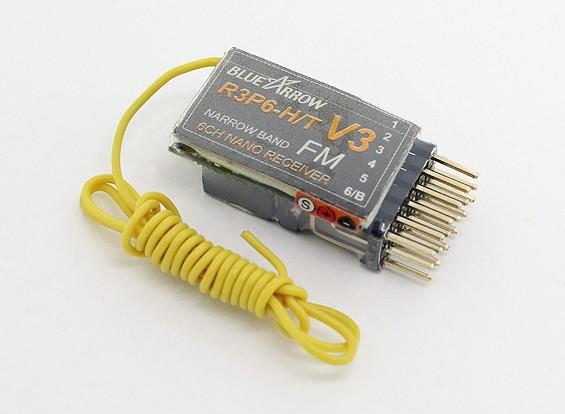 アロー6CHの3.9グラムの35MHzのFMマイクロレシーバー