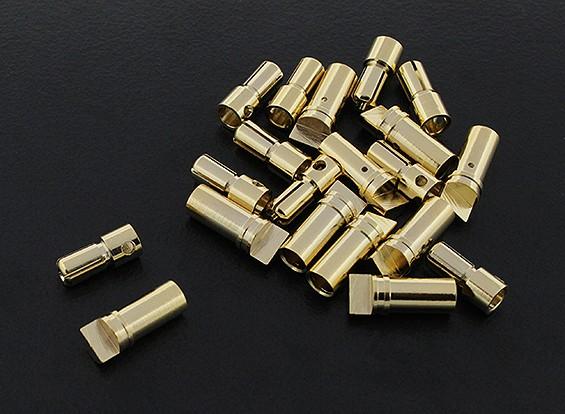 3.5ミリメートルゴールドコンパクトコネクタ(10pairs)
