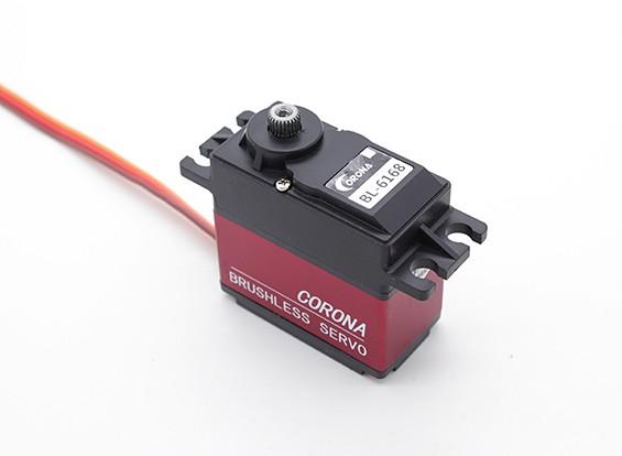 コロナBL-6168デジタルブラシレスメタルギアサーボ25キロ/ 0.18sec / 63.8グラム